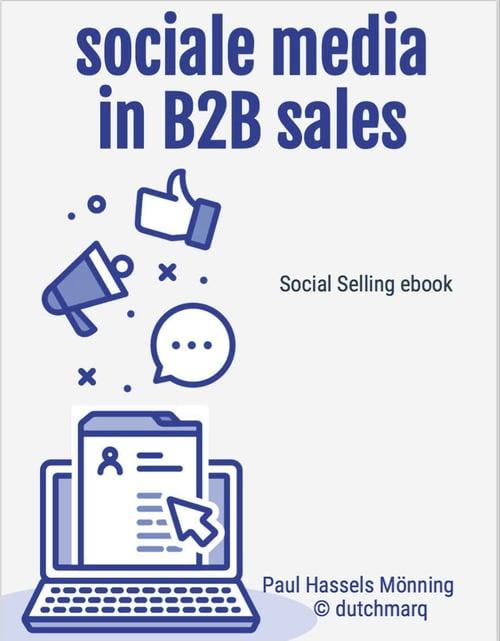 B2B social selling cover