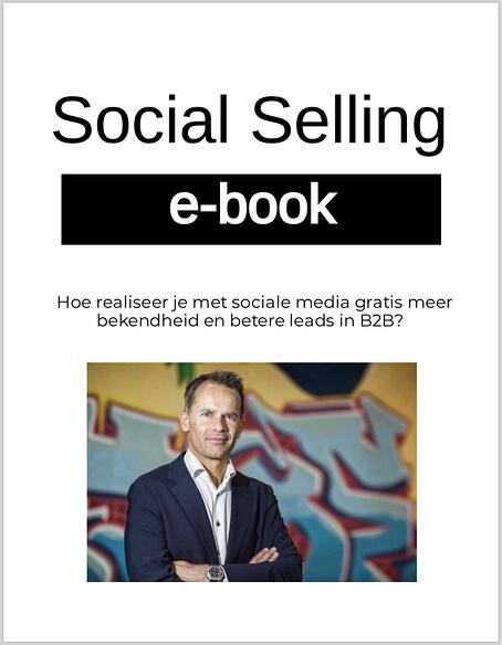 Cover e-book Social Selling e-book
