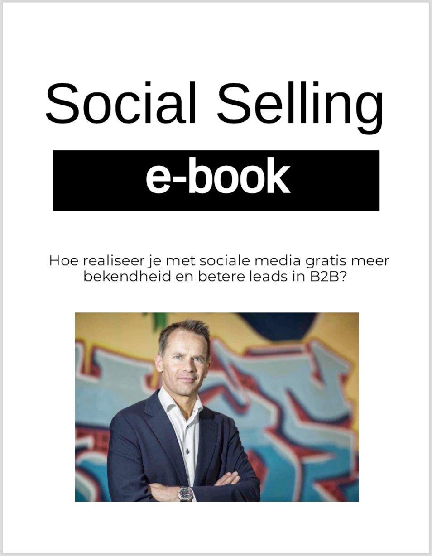 Cover e-book Social Selling e-book